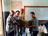 NRC-NFE, board member handover relief materials to Bungamati
