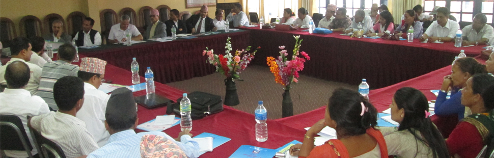CLC's review meating provided by nrc-nfe in Kathmandu.